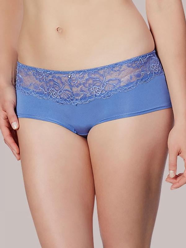 Lace Trim Boyleg Panty