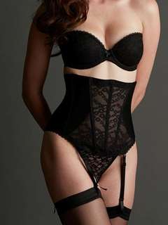 Belle Forme Lace Hourglass Waist Cincher