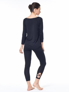 Cut Out Ankle Detail Legging