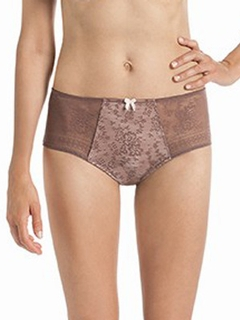 Fleur Lace High Waist Brief