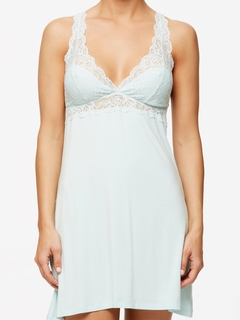 Crossover Lace Bust Chemise