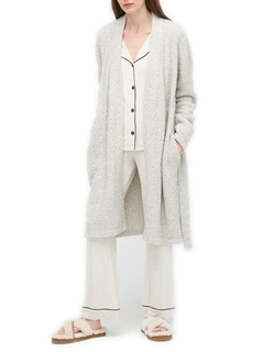 Ana Fluffy Sweater Knit Robe