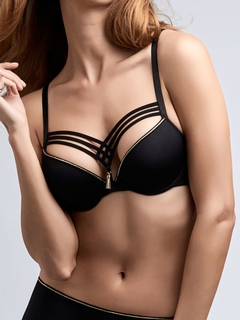 Dame de Paris BlackGold Push Up Bra