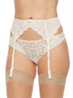 Keyhole Collection Garter Belt