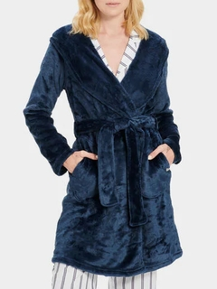 Miranda Fleece Hooded Robe