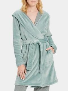 Miranda Fleece Hooded Robe