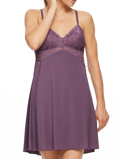 Lace Bust Chemise with Support