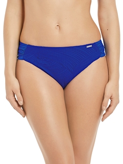 Ottawa Gathered Mid Rise Brief Bikini Bottoms