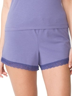 Luxe Cara Lace Trim Shorts