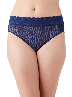 Halo Lace Hi Cut Brief