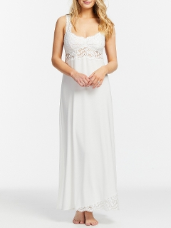 Everlasting Long Gown Lace Hem
