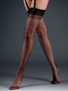 Plain Top Sheer Stockings