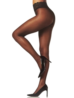 Lace Waist Ultra Sheer Tights