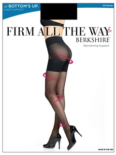 Firm All The Way Bottoms Up Sheer Tights