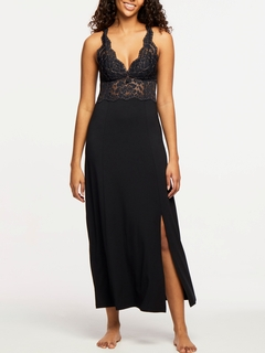 Front Slit Long Gown