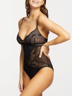 Femme Fatale Lace Cup Bodysuit