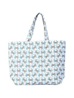 Jute Carryall Tote Bag