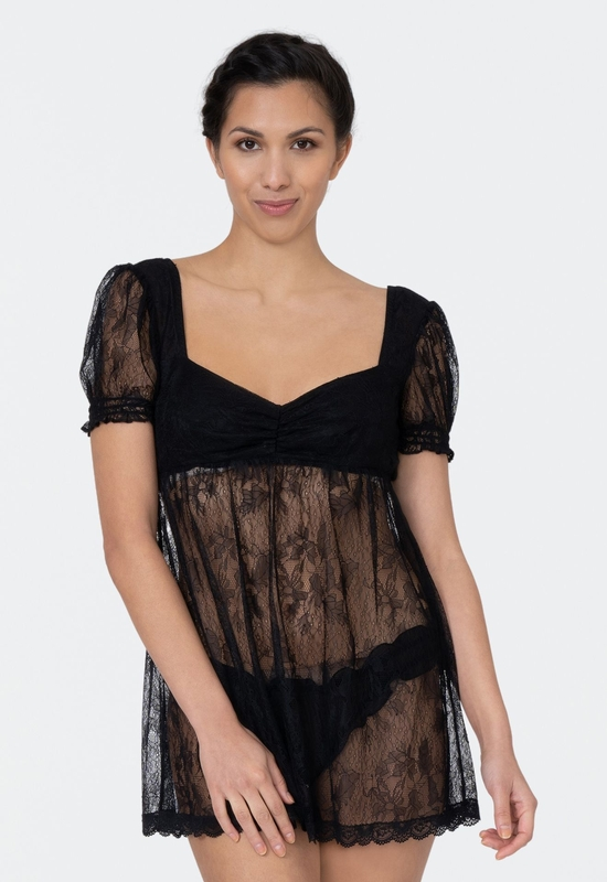 Lily All Lace Babydoll with Panty
