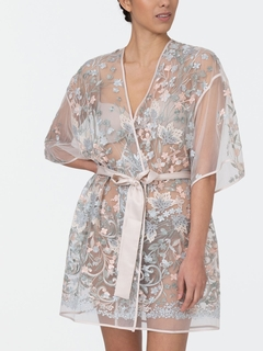 Iris Embroidered Cover Up
